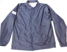 The Lomas Brand- Navy Windbreaker