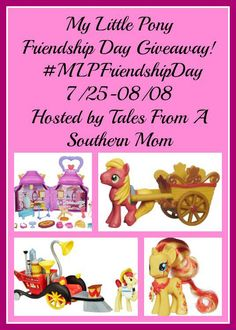 My Little Pony Friendship Day #Giveaway Ends 8/8