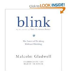 Blink: The Power of Thinking Without Thinking [Audiobook, Unabridged] [Audio CD].  List Price: $39.98  Savings: $13.59 (34%)