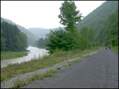 The Pine Creek Trail is a 60 mile rail trail located in Ansonia, Pennsylvania