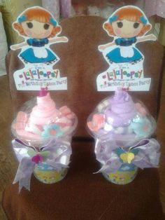 Lalaloopsy Towel shakes and sherbets for giveaways