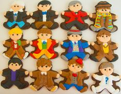 Items similar to One dozen Doctor Who cookies on Etsy Doctor Who Birthday, Doctor Who Party, Cute Cookies, Cupcake Cookies, Doctor Who Craft, Key Lime Cheesecake, Cookie Designs, Cookie Ideas, Fiesta Party