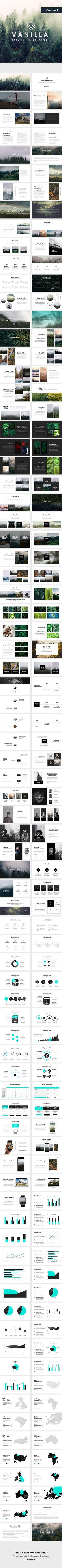 Vanilla Minimal V2 Powerpoint Template - Creative PowerPoint Templates