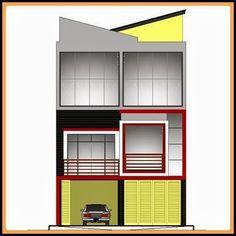 desain ruko minimalis 2 lantai home design 3d