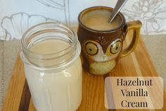 How to Make Hazelnut Vanilla Coffee Creamer :: Dairy-Free, Gluten-Free, Paleo/Primal // deliciousobsessions.com