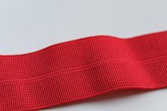 RED Foldover Elastic 1 Inch Plush FOE by CreationsbyLSM on Etsy, $2.22