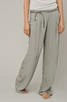 loung pants.....my best friend every night when i get home fromm work!  Pants go on, hair goes up=relax!