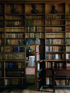 SImon Brown - Secret Library Door | From a unique collection of photography at http://www.1stdibs.com/art/photography/