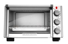 Toaster ovens have become part-and-parcel of the modern kitchen. Some will toast bread; Solid Surface Countertops, Countertop Materials, Specialty Appliances, Small Appliances, Kitchen Appliances, Black And Decker Toaster, Convection Cooking, Stainless Steel Oven