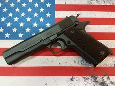 "79 Likes, 1 Comments - Allsport Perf. Firearms Shop (@maine_gun_dealer_guns_ammo) on Instagram: ""#COLT #1911 #wwi #wwii #ww11 #colt1911 #usa #military #maine #america #wwtwo #worldwarii #usa…"""