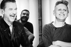 Dave Gahan and Martin Gore of Depeche Mode, 2017