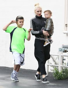 Gwen Stefani Steps Out With Sons