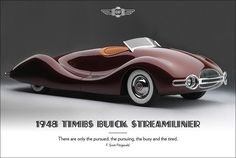 post deco 1948 Buick Streamliner