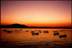 Lago de Chapala at sunset a media hora de Guadalajara encontraran el mayor lago de México y sus bellos atardeceres y tranquilidad.    www.salutaris.mx