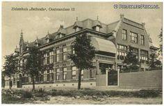 Rotterdam, Ziekenhuis 'Bethesda', Oostmaaslaan 12 Rotterdam, Paris Skyline, Holland, Memories, History, Travel, Roots, Nostalgia, Art