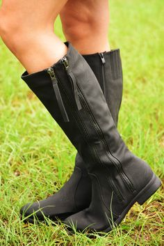 Nights On Fire Boots: Black #shophopes