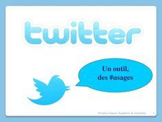 Apprendre à utiliser Twitter via Slideshare