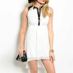 Image of WHITE SPRING DRESS