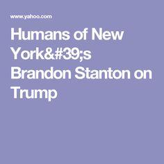 Humans of New York's Brandon Stanton on Trump