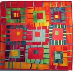 If you enjoy improvisational quilts, then you'll love this wonky style quilt!