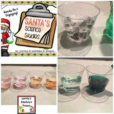 Your students will have a blast conducting these winter themed science experiments. This is perfect for the holiday season! Included in this pack are: *Volunteer/donation letter (3 different versions) *Station signs if you wish to conduct these experiment