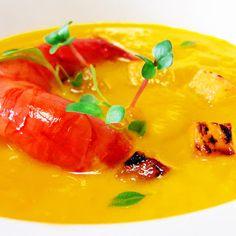 Denny Chef Blog: Crema di astice con ananas