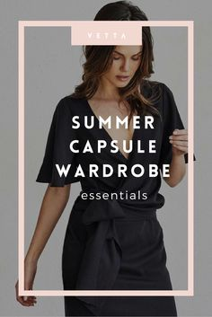 When we think summer, we think airy and easy - and our Classic Capsule reflects just that. We see our newest collection as our summer capsule wardrobe essentials.