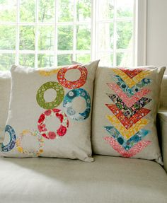 Purl.Bee.Class.Pillow (on right)