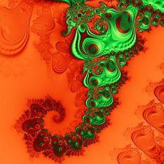 A fractal art for the living room from Solomon Barroa