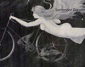 Gladiator Bicycle Art Nouveau Advertisement 1895 Victorian Era Lithograph Poster