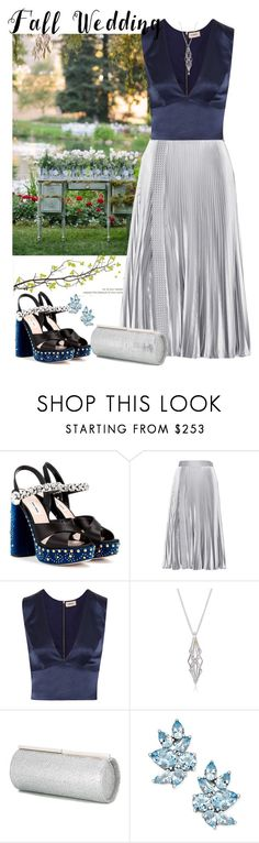 """Bez naslova #465"" by m-jelic ❤ liked on Polyvore featuring Miu Miu, Christopher Kane, L'Agence, Jimmy Choo and fallwedding"