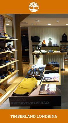 f1703c7c20 Nossa nova loja Timberland em Londrina!  D
