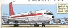 """Boeing 707 del """"Vuelo 714 para Sidney"""""""