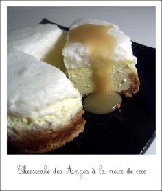 Cheesecake des Anges à la noix de coco