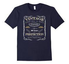 60th Birthday Gift T-Shirt - Born In 1956 - Vintage