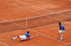 Nicolas Mahut et Michael Llodra ont tout donné. En vain. Mike et Bob Bryan s'adjugent le tournoi de double messieurs 6/4-4/6-7/6.
