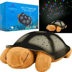 Night Light Turtle Plushie with Music