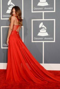 Grammy's wearing Azzedine Alaia