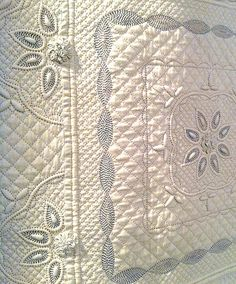hand quilting...amazing and beautiful