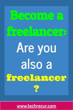 If you want to become a freelancer, you first have to find out whether you meet the requirements for freelance work, i.e. an independent job as a freelancer. This article is about the possibility of freelance work. To do this, you first need to know the difference between a commercial and a freelance job.   #freelancer #becomeafreelancer #freelancejob How To Find Out, How To Become, Need To Know, Commercial, Meet, Business, Store, Business Illustration