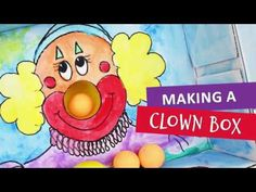 A cardboard box is ideal for making a clown that can be used in various activities to improve hand coordination. Creative Play, Kids Boxing, A Funny, Family Activities, Diy For Kids, Kids Playing, Winnie The Pooh, Make It Yourself, Create