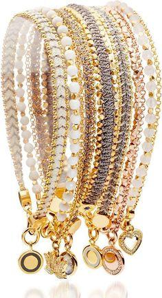 Astley Clarke Rock N Roll Nugget Bracelet #FashionJewelry