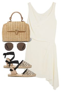 """""""Untitled #5087"""" by theeuropeancloset on Polyvore featuring Atlein, Soludos and MANGO"""