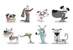 Dog Characters #dog #character #animal