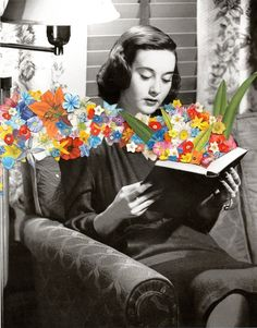 Books Art Print by Ben Giles |  #collage