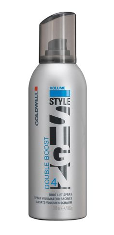 Double Boost - spray foam for root lift and ultimate volume boost! I <3 this for my short-haired clients AND my long-haired clients. It's awesome!