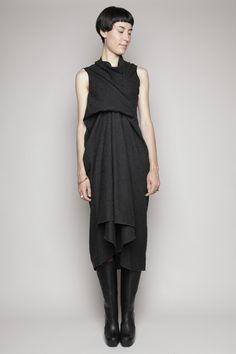 Rick Owens - Tornado Wool Dress.