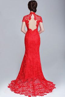 confessions of an asian bride: The Red Qi Pao/Cheongsam