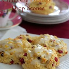 Low Carb Cranberry Orange Scones Recipe | All Day I Dream About Food
