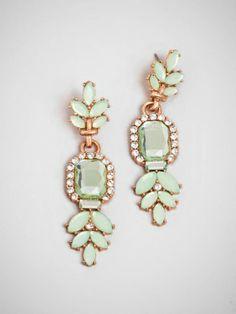 Mint baubles #earrings